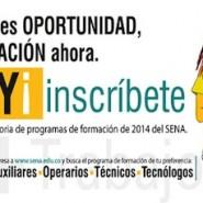 Inscripciones Cursos Técnicos y Tecnológicos SENA