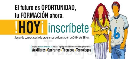 Inscripciones Cursos Tecnicos y Tecnologicos SENA