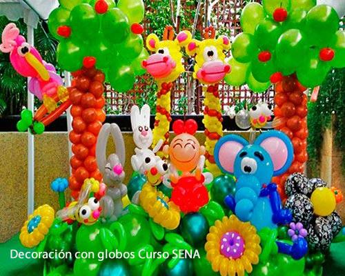 Curso decoraci n con globos sena - Curso decoracion con globos ...